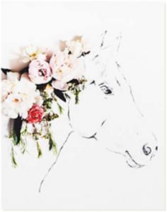horse-print